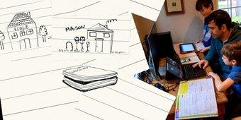 Image de Vidéo. «Ecole à la maison»: les conseils de spécialistes et d'adeptes de l'enseignement à domicile