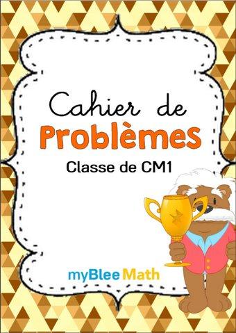 Image de Cahier de problèmes -Classe de CM1