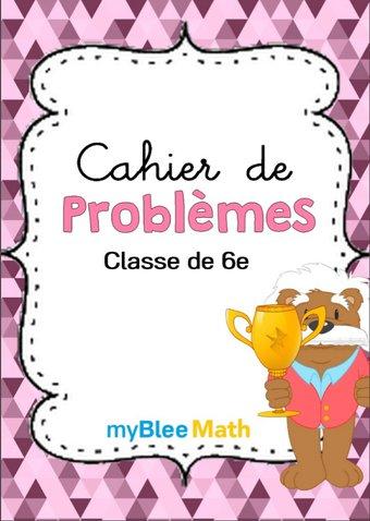 Image de Cahier de problèmes -Classe de 6e