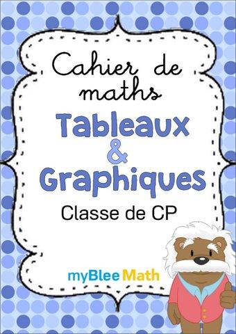 Image de Cahier de maths - Tableaux et graphiques -CP