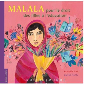 Image de Malala pour le droit des filles à l'éducation