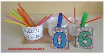 Image de Compte-pailles pour la maternelle