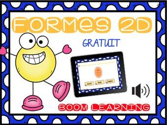 Image de BOOM LEARNING - les formes 2D