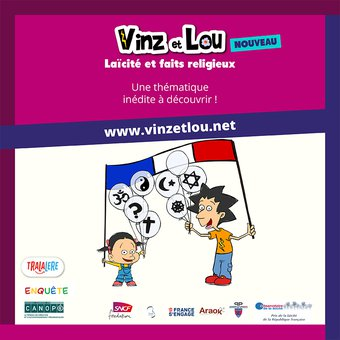 Image de Vinz et Lou - Laïcité et faits religieux