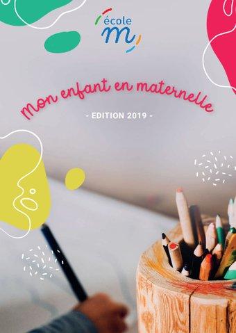 Image de Guide pour les parents : mon enfant en maternelle (par l'école M)