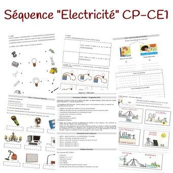 """Image de Séquence """"électricité"""" CP-CE1"""
