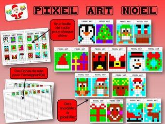 Image de Pixel Art : Noël