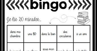 Image de Bingo de lecture
