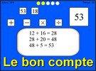 Image de Jeu de maths : Le bon compte