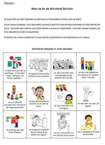 Image de Les évaluations en maternelle