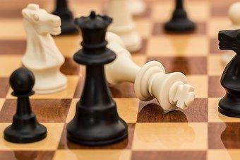 Image de Le jeu d'échecs  à l'école maternelle