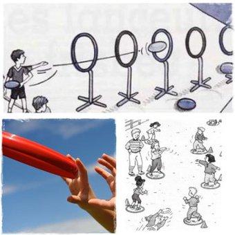 Image de Lancers : manipulation du frisbee – Approche de l'ultimate – CE1/CE2