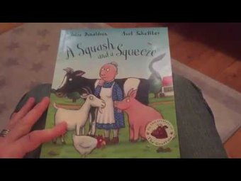 Image de A squash and a squeeze by Julia Donaldson - Mr Wickins Reads