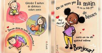 Image de Déconfinement : si votre enfant reprend l'école, montrez-lui d'abord ces sept dessins