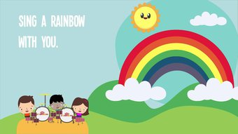 Image de I Can Sing a Rainbow | Rainbow Song | Song Lyrics | Children Song | The Kiboomers