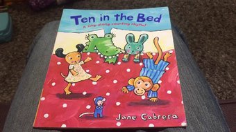 Image de Ten in the bed by Jane Cabrera - Mr Wickins Reads
