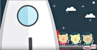 Image de Zoom Zoom Zoom We're Going to The Moon Song | Rocket Song for Kids | Space Songs for Kids