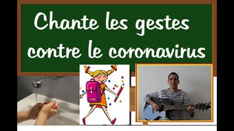Image de Contre coronavirus à l'école - Tout ira bien - Math&Léo (chanson des gestes barrières pour enfant)