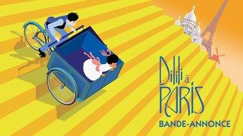 Image de Dilili à Paris, la bande-annonce