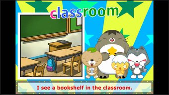 Image de English Kid Songs(What do you see in the classroom?)