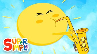 Image de Mr. Sun, Sun, Mr. Golden Sun | Kids Songs | Super Simple Songs
