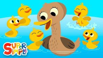 Image de Five Little Ducks | Kids Songs | Super Simple Songs