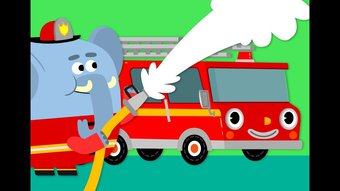 Image de Here Comes The Fire Truck | Kids Songs | Super Simple Songs