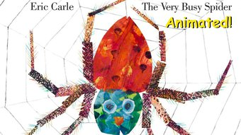 Image de The Very Busy Spider - Animated Children's Book