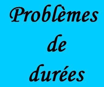 Image de Problèmes de durées CM1 et CM2 - La Classe de Myli Breizh