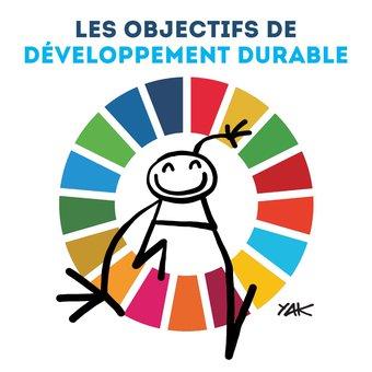 Image de Les objectifs de développement durable: Illustré par Yacine Aït Kaci (YAK)