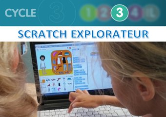 Image de Scratch explorateur - programmation
