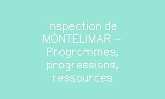Image de Inspection de MONTELIMAR - Programmes, progressions, ressources