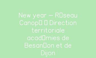 Image de New year - Réseau Canopé – Direction territoriale académies de Besançon et de Dijon