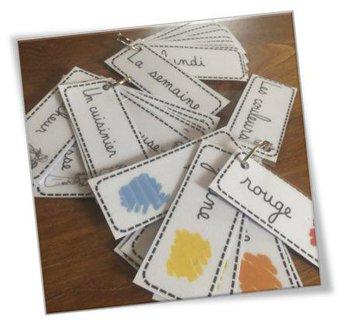 Image de Ateliers écriture et vocabulaire : les porte-clés