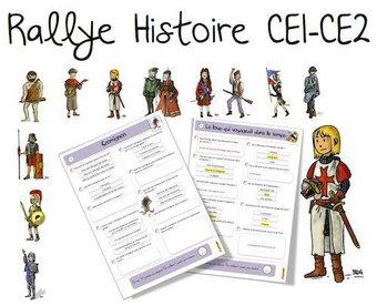 Image de Rallye Histoire CE1 -CE2