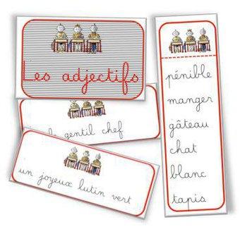 Image de Ateliers cartes à pince Adjectifs