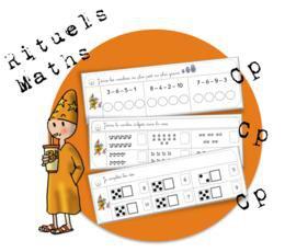 Image de Maths CP : les rituels