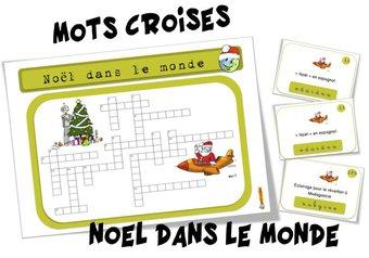 Image de Mots croisés : Noël dans le monde
