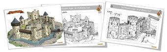 Image de Coloriages : le Moyen Age