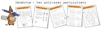 Image de Géométrie: Les polygones particuliers. Exercices