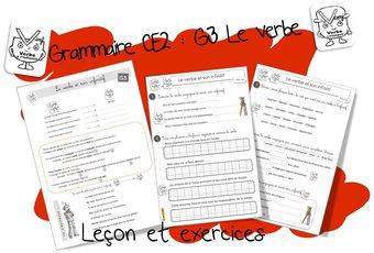 Image de Réussir en grammaire au CE2 : G3 le verbe