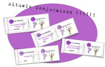 Image de Cartes rituels : conjugaison