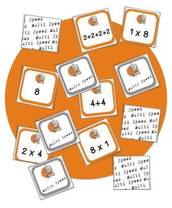 Image de Jeux maths: Multi speed :la multiplication