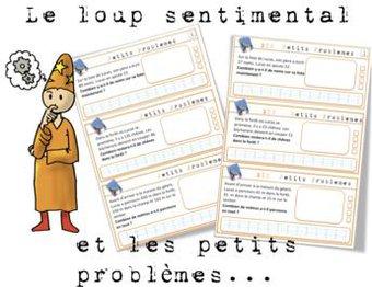 Image de Petits problèmes CE1-CP : Le loup sentimental