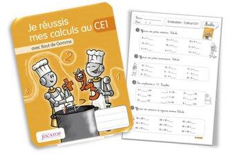 Image de Evaluations CE1 en calcul avec les cahiers Jocatop