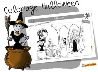 Image de Coloriage d'Halloween
