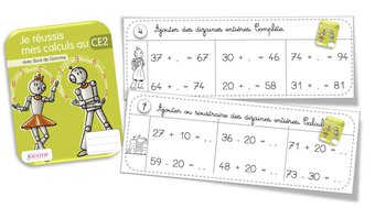 Image de Rituels calcul avec les cahiers de calcul Jocatop CE2
