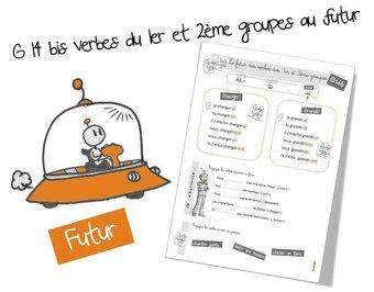 Image de G14 bis : CE2 les verbes du 1er et du 2eme groupes au futur