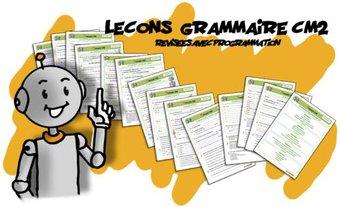 Image de Leçons Grammaire CM2