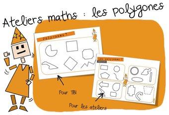 Image de Ateliers Maths : les polygones